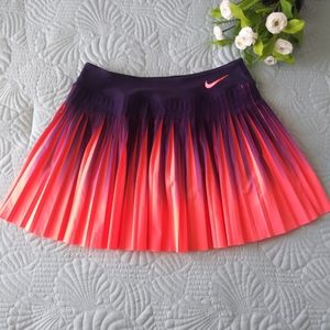 Nike Skirt Dri Fit Active Pleated Tennis Golf S